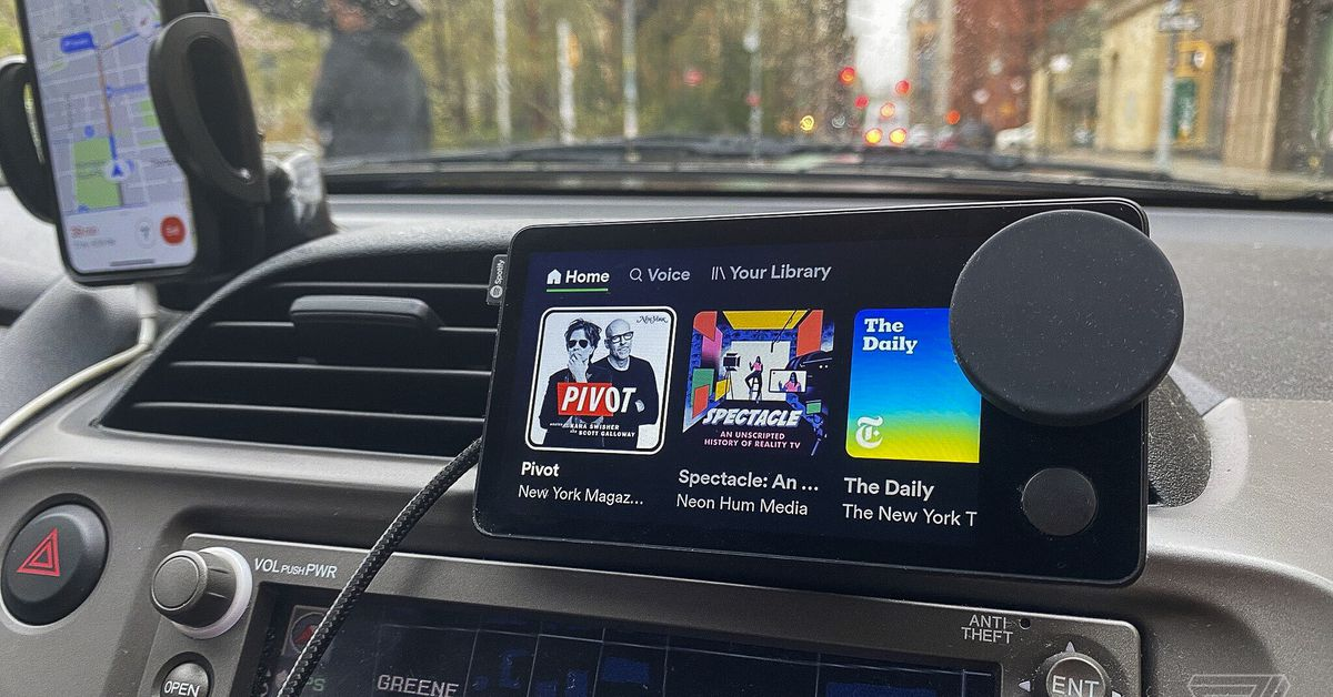 Spotify's Car Thing debuts as a limited release for selected US users
