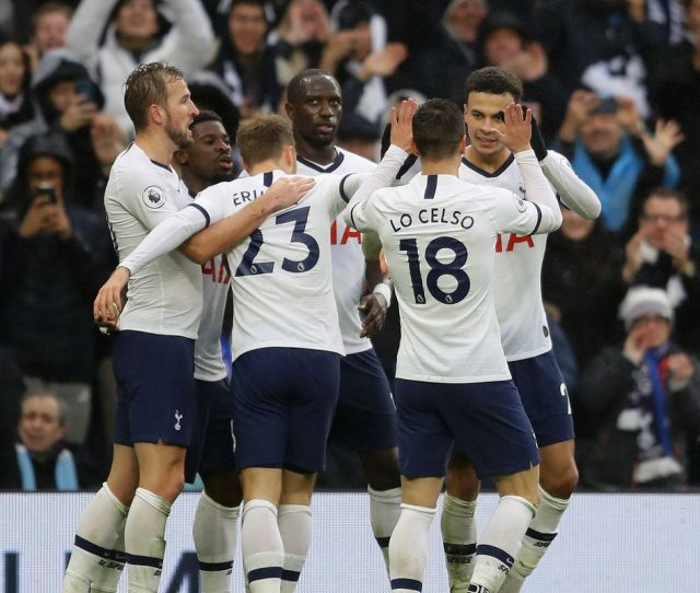 Tottenham   Brighton Kane And Dele Power Spurs To Come From