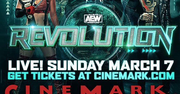 AEW is bringing Revolution to the movies this Sunday
