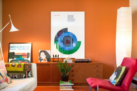 How to brighten a dark room  9 ideas to try   Curbed In a photo stylist s Minneapolis home  an intimate den brightens up with  two kinds of floor lamps  one more focused and another more ambient