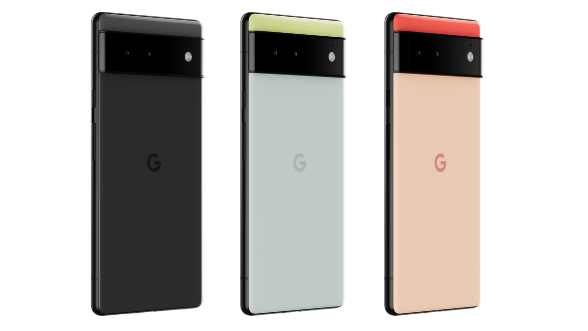 The Pixel 6 has two more fun color choices