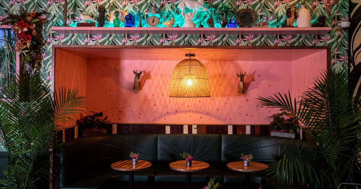 First Look The Skips Gets A Tiki Bar Makeover In