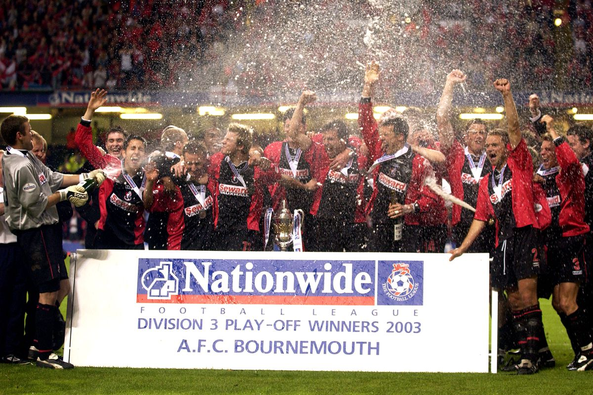 Soccer - Nationwide League Division Three - Play Off Final - AFC Bournemouth v Lincoln City