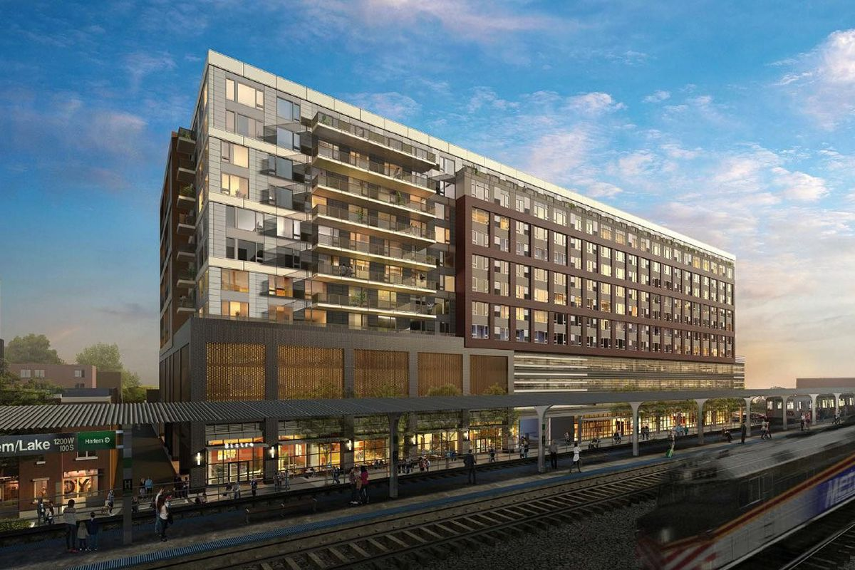 New 12 Story Apartment Complex Breaks Ground In Oak Park