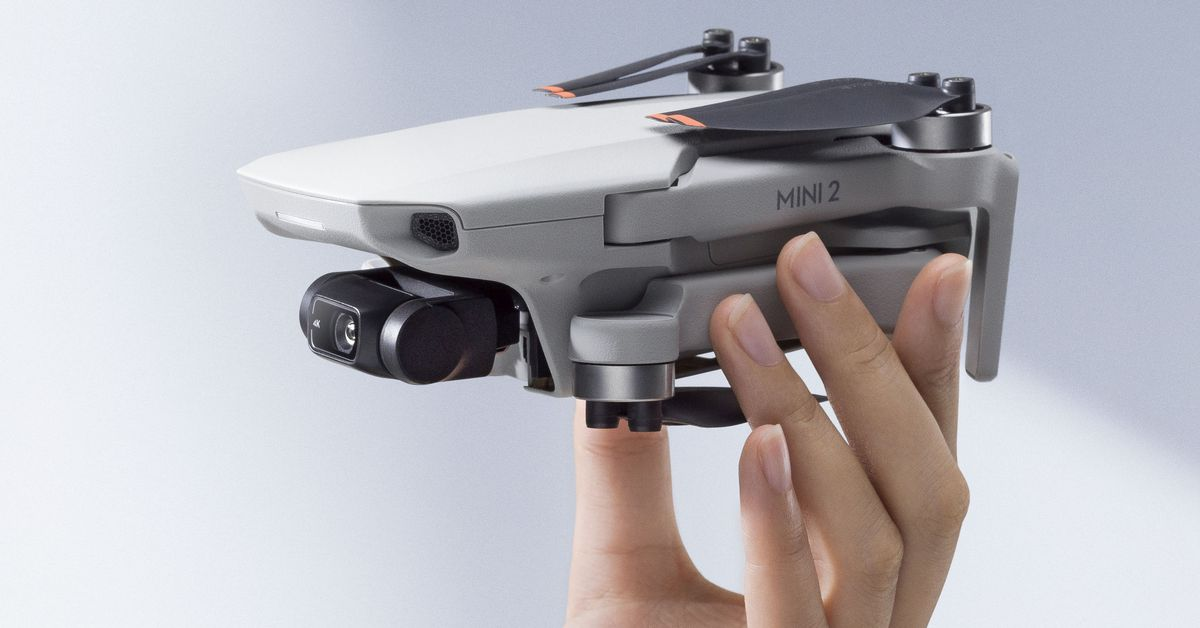 DJI's palm-sized Mini 2 drone flies further and shoots 4K for 9