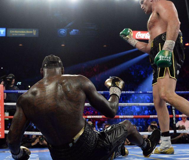 Wilder Vs Fury  In Tweets Pros React To Tyson Furys Knockout