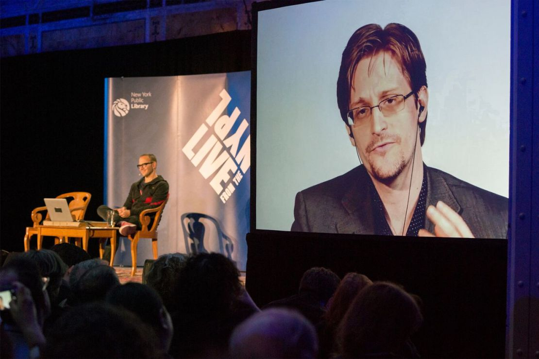 Cory Doctorow and Edward Snowden