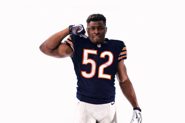 Image result for khalil mack bears uniform