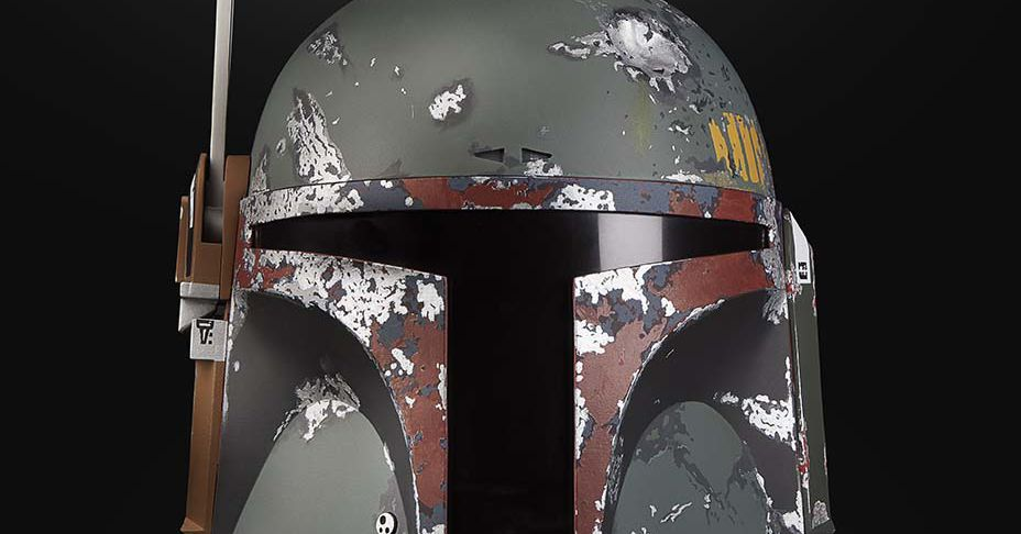 I Wish Hasbros New Boba Fett Helmet Was Available When I Was A Kid The Verge