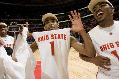 NCAA Men's Basketball - 2007 Big Ten Tournament - Championship Game - Wisconsin vs Ohio State