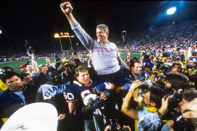 Image result for parcells after super bowl