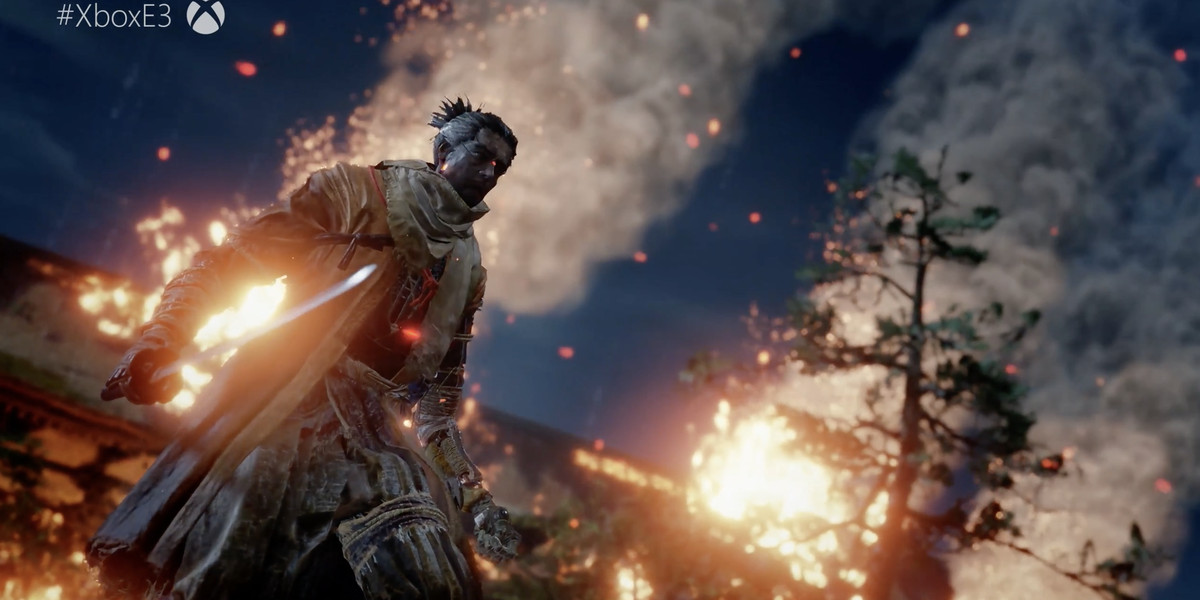 See the first gameplay for Sekiro  Shadows Die Twice  from the     See the first gameplay for Sekiro  Shadows Die Twice  from the developers  of Dark Souls   The Verge