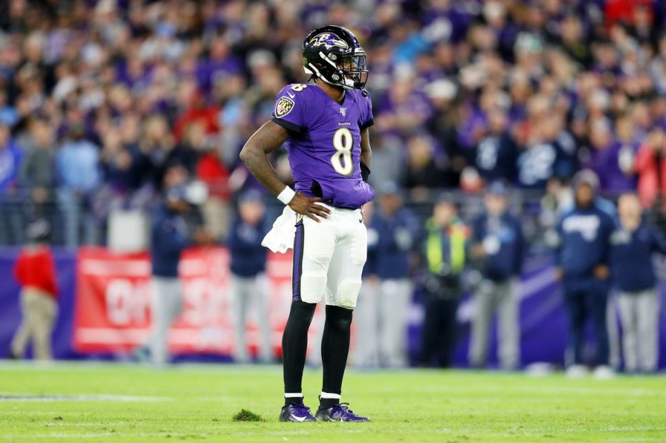 The Ravens' playoff loss to the Titans is not Lamar Jackson's fault -  SBNation.com