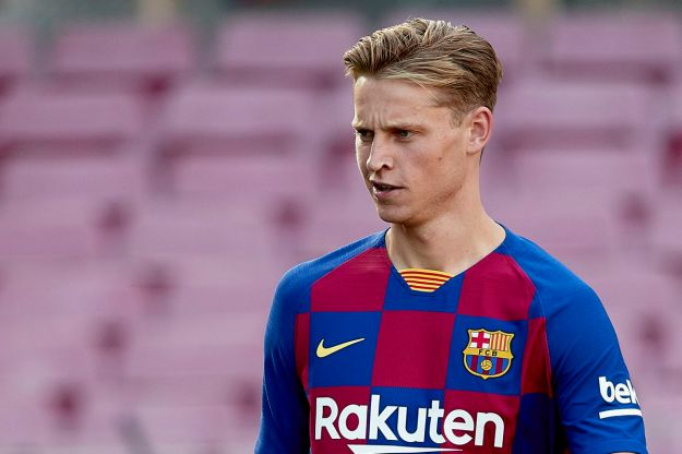 FC Barcelona Unveil New Player Frenkie de Jong