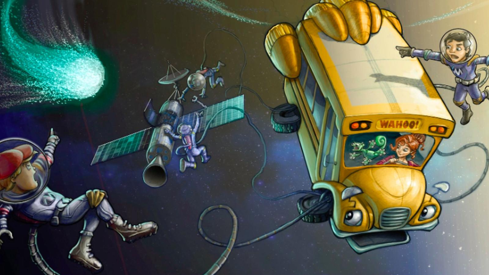 Netflix Is Rebooting Magic School Bus As A Computer