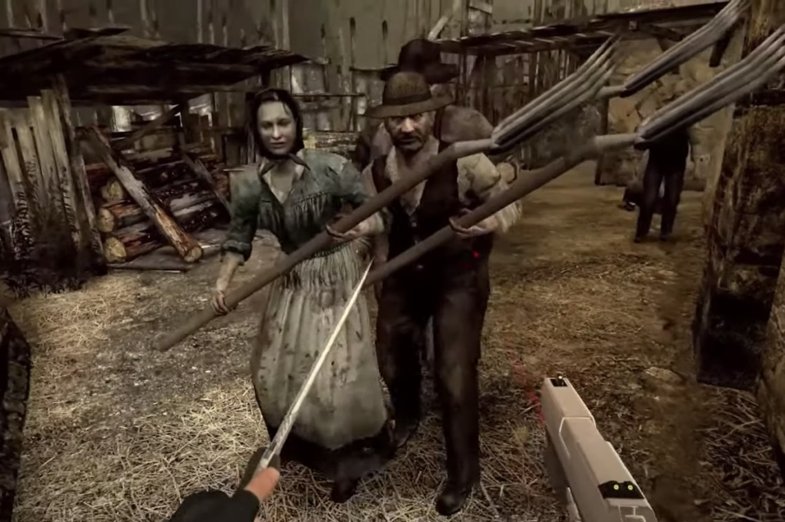 A Resident Evil 4 VR remake is launching on Oculus Quest 2