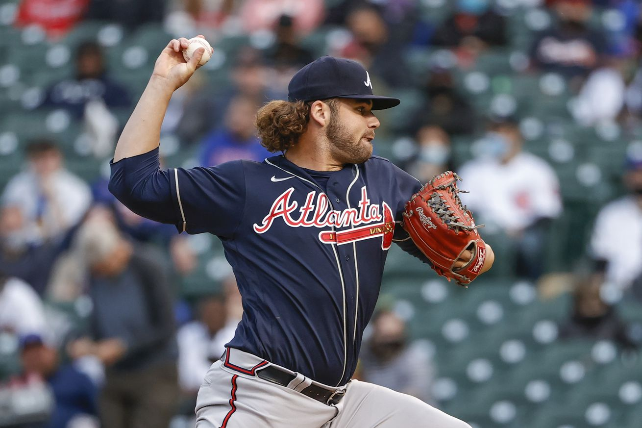 MLB: Atlanta Braves at Chicago Cubs