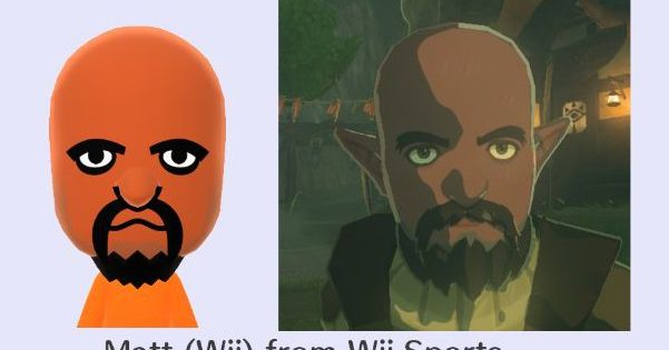 Nintendo's Breath of the Wild basically uses fancy Miis as NPCs