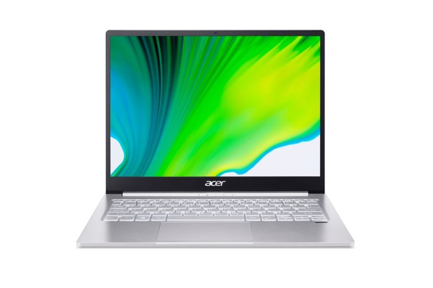 Acer Swift 3 SF313-53 from the front.