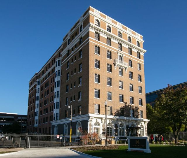 After A Renovation That Lasted Almost A Year The Milner Arms Apartments Now The Hamilton Has Reopened For Residents
