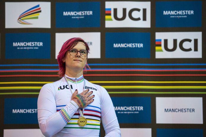 Trans cyclist Rachel McKinnon wins championships despite detractors -  Outsports