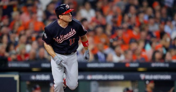 Of course it was Ryan Zimmerman who hit the first World Series home run in Washington Nationals history