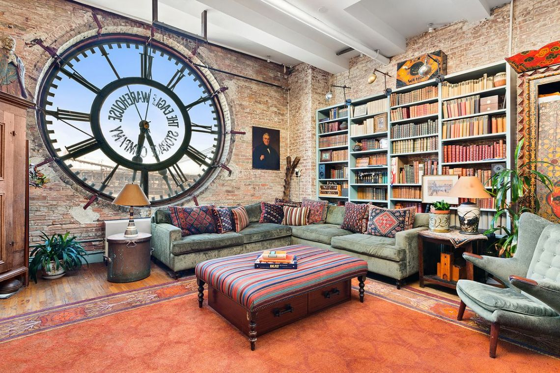Gorgeous Loft In Brooklyn S Old Eagle Warehouse Building Wants 2 35m Curbed Ny