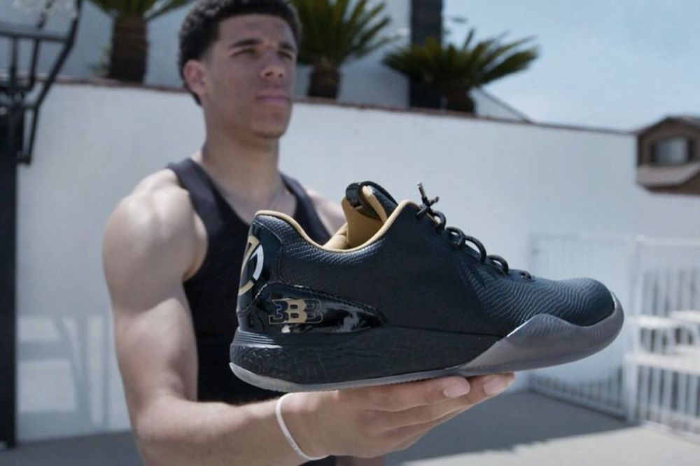 Image result for lonzo ball shoe