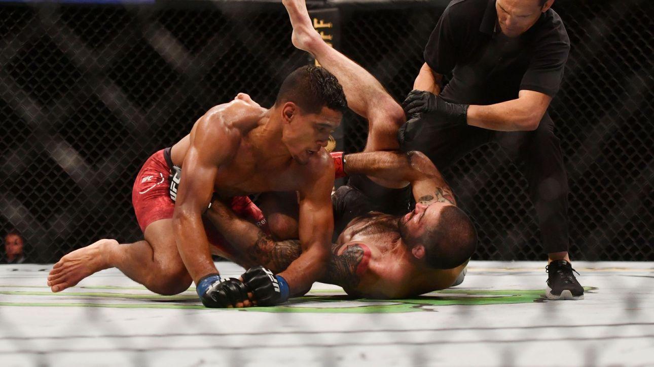Santiago Ponzinibbio vs. Miguel Baeza at UFC, June 5