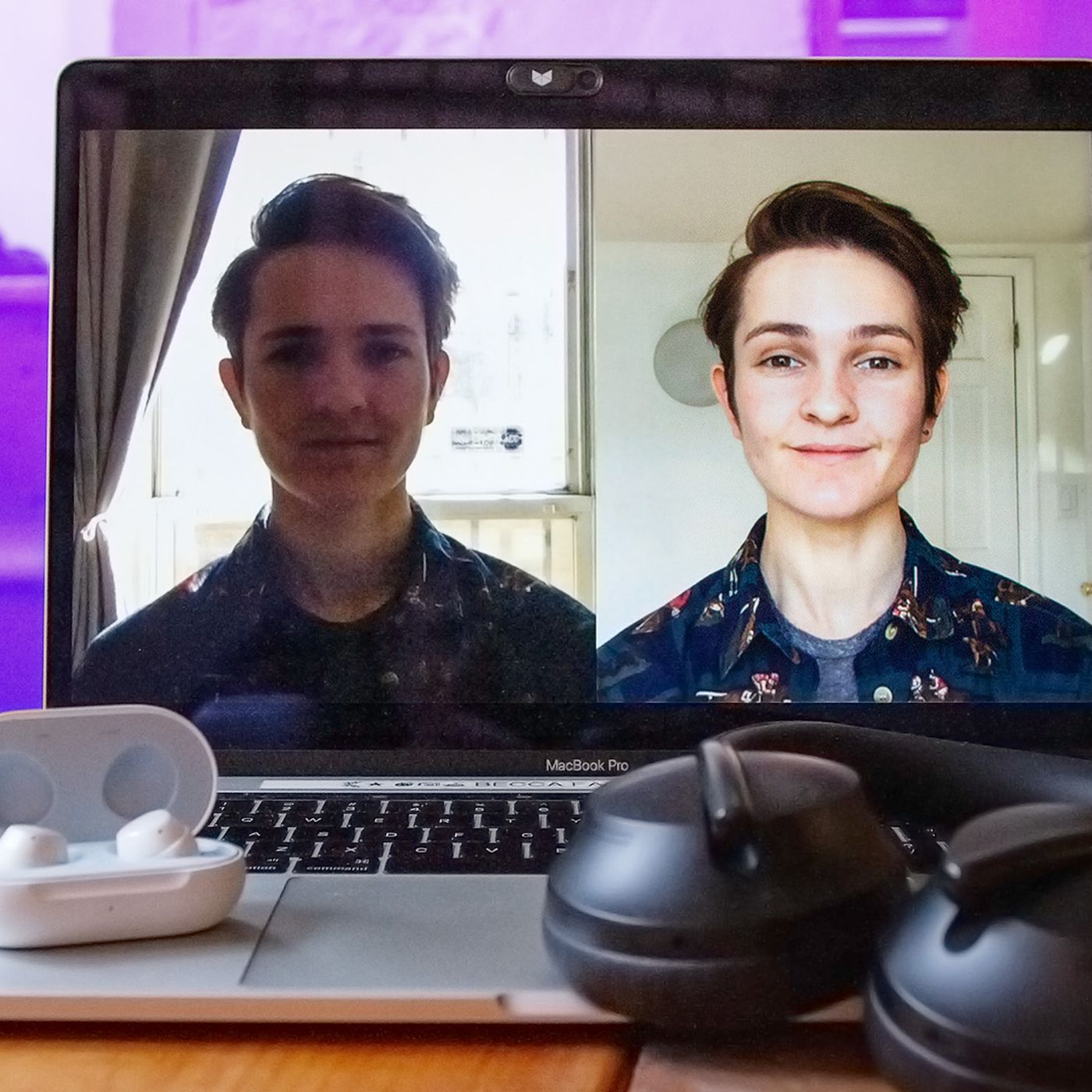 how to look your best on a video call