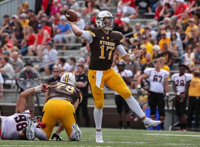NCAA Football: Gardner Webb at Wyoming