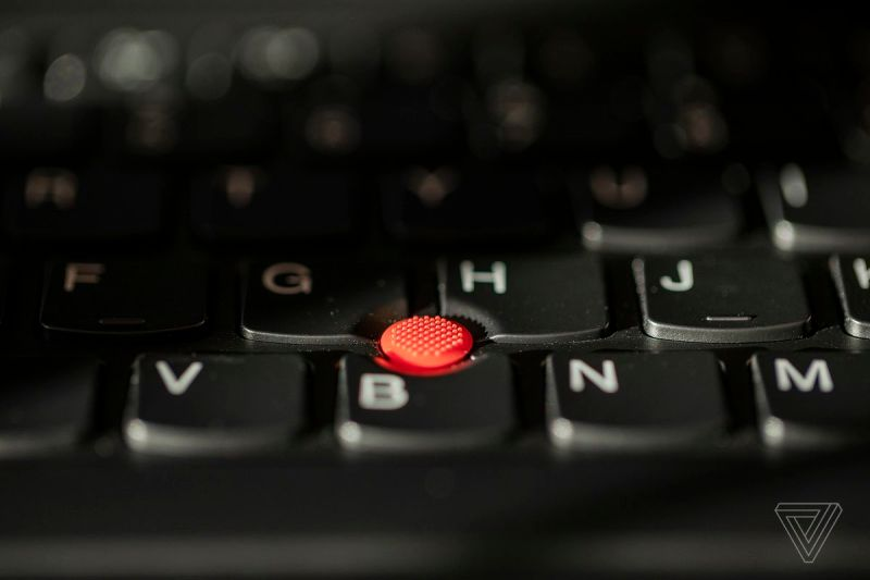 Il nodo della tastiera del ThinkPad X1 Nano.
