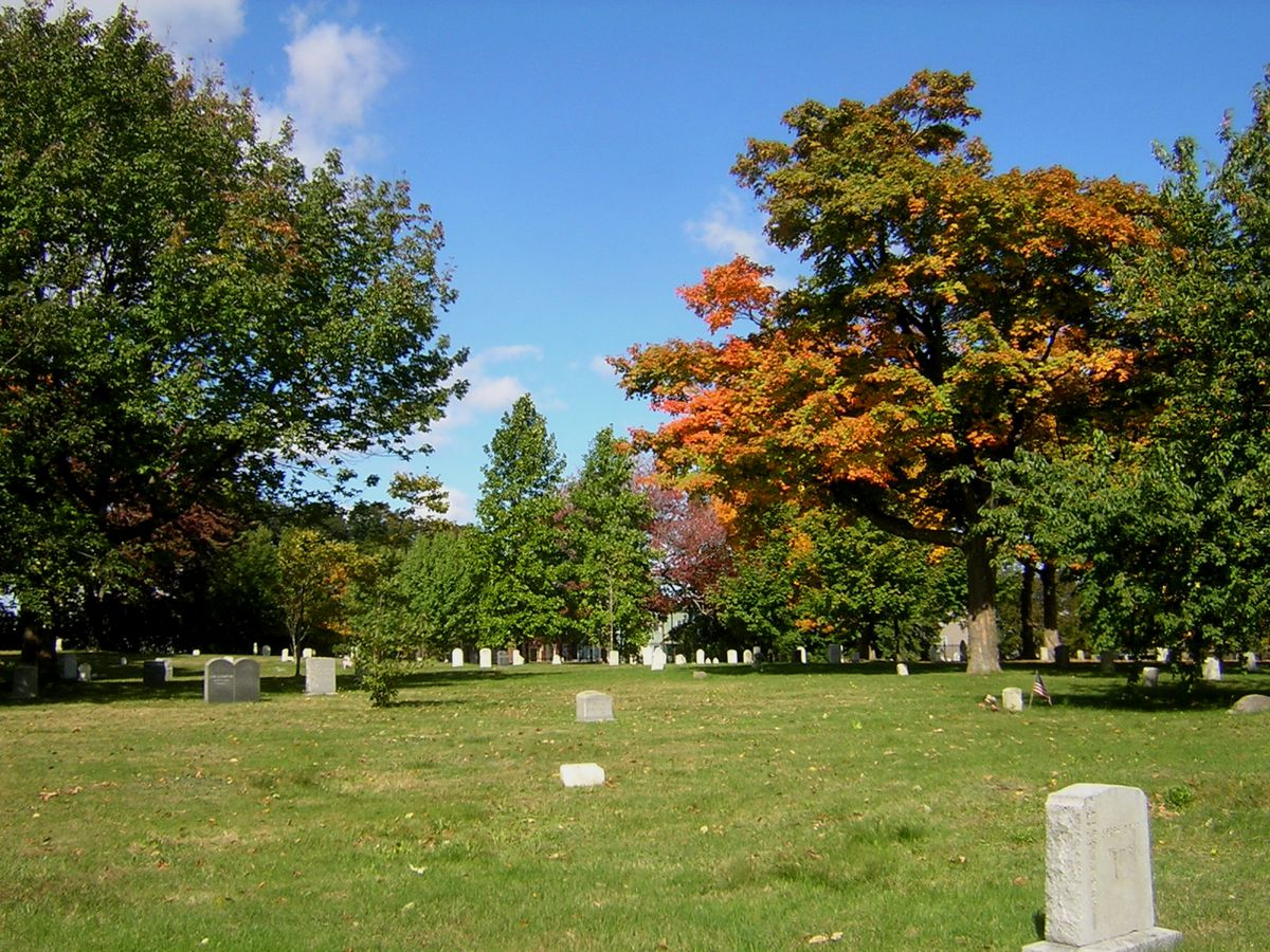 The Boston Areas 26 Most Historic Cemeteries Mapped
