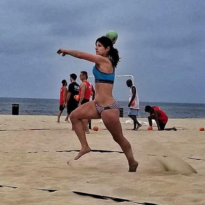 Athena Del Rosario is a trans athlete with Team USA Beach Handball -  Outsports