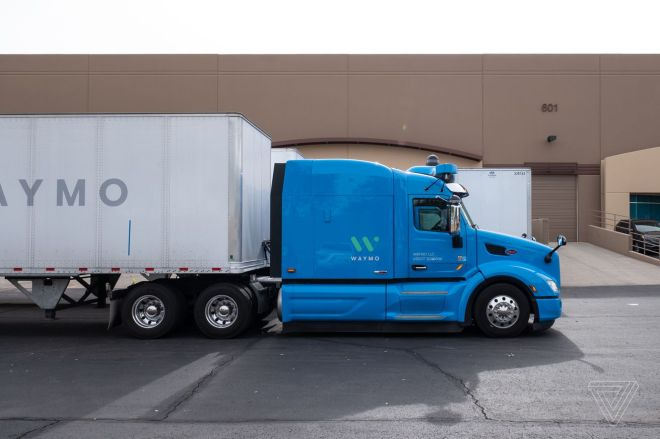 vpavic_191202_3827_0042.0 Waymo teams up with trucker JB Hunt on autonomous freight hauling in Texas | The Verge
