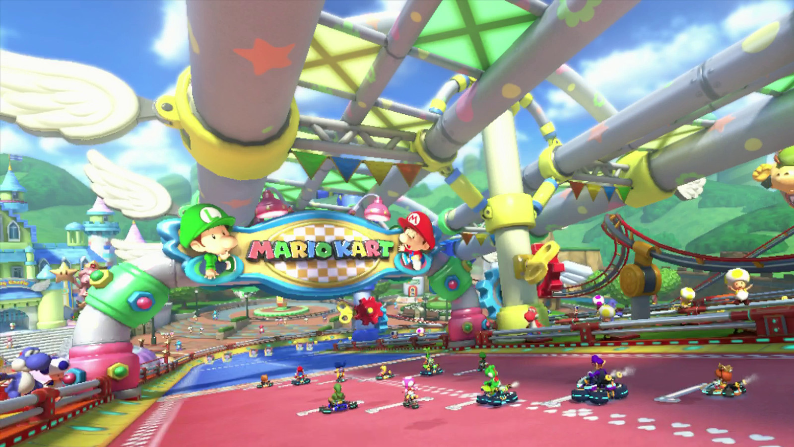 Watch A Blazingly Fast Eight Second Lap In Mario Kart 8 S