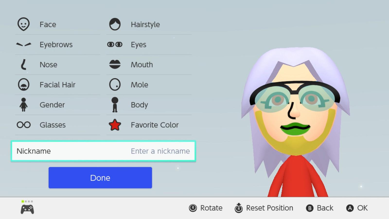 Nintendo Switchs Mii Editor Gets Colorful Polygon