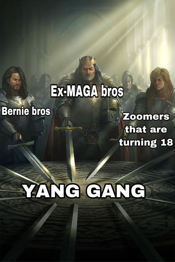 Image result for andrew yang memes