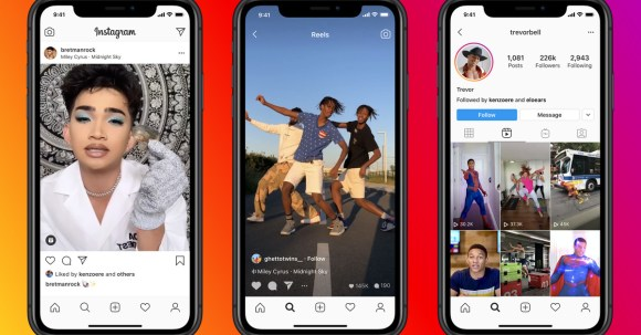 Instagram says its algorithm won't promote Reels that have a TikTok watermark
