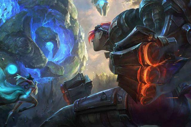 <em>League of Legends illustration.</em>