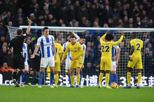 Image result for Brighton vs Chelsea 1-2