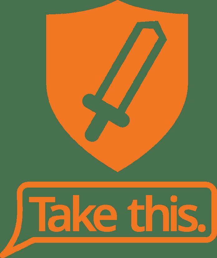 take this logo in orange