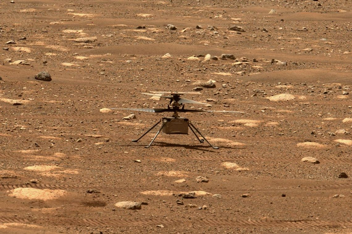 First flight test for NASA's Ingenuity helicopter pushed to Wednesday