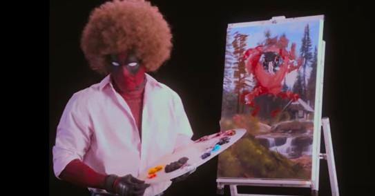 Watch Deadpool Paint And Shoot Things In The New Teaser