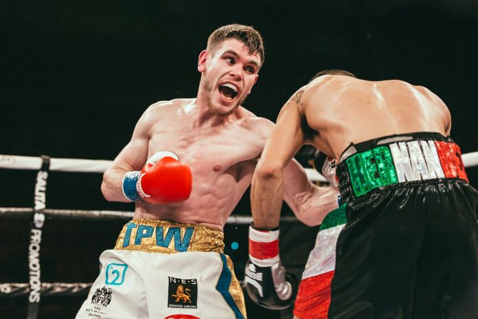122-pound prospect Thomas Patrick Ward signs deal with MTK Global - Bad Left Hook