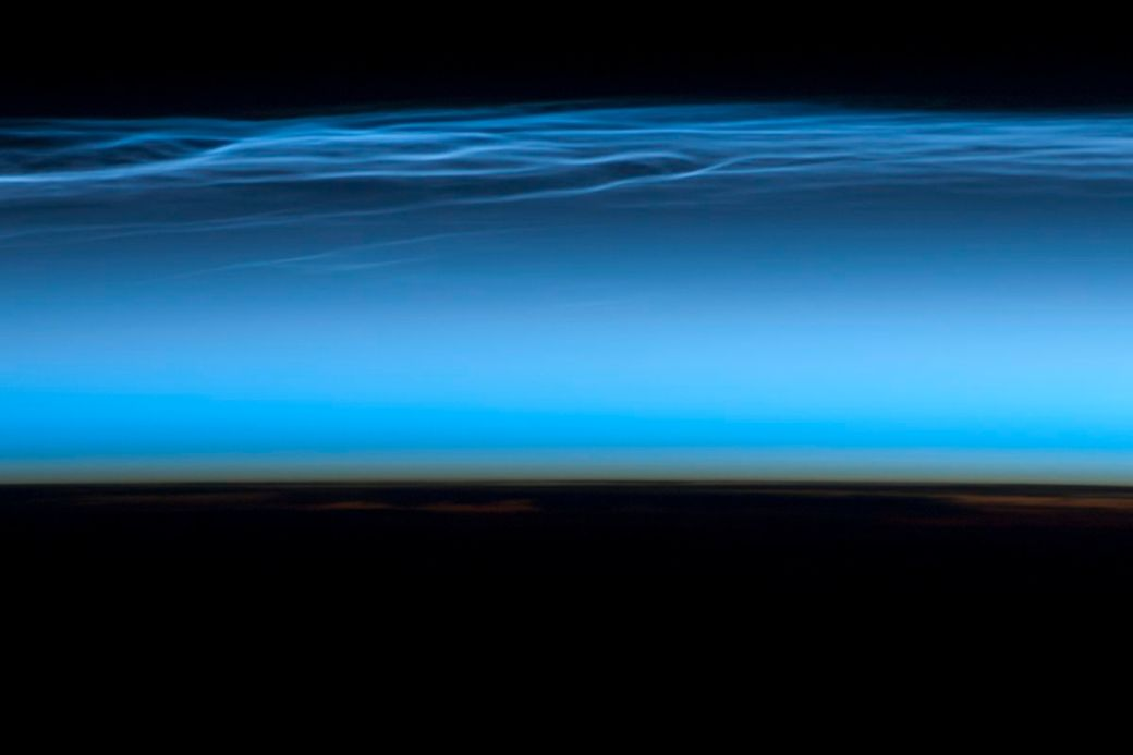 The view from the International Space Station.