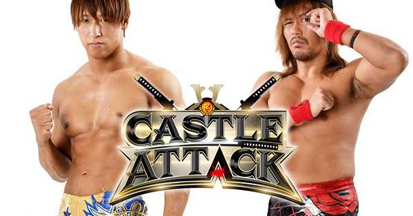 Naito will try to split the titles at Castle Attack