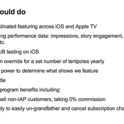 <em>Apple considered bundling Netflix with Apple TV sales and offering more flexibility with subscriptions.</em>