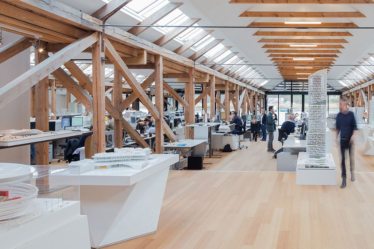 An Inside Look At The Offices Of Zaha Hadid Renzo Piano