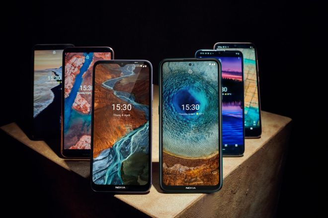 Group_shot.0 HMD revamps its midrange Nokia lineup with six phones under €350 | The Verge